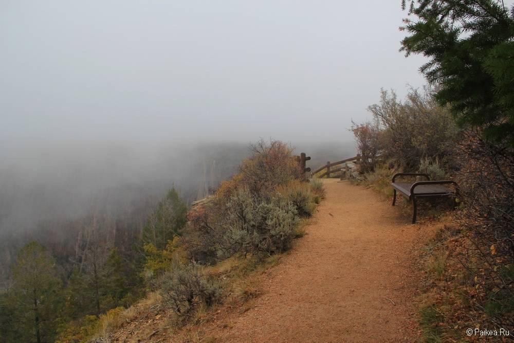 Черный каньон Ганнисона, Колорадо, США 19