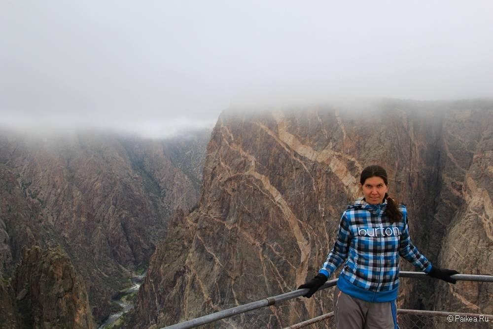 Черный каньон Ганнисона, Колорадо, США 27
