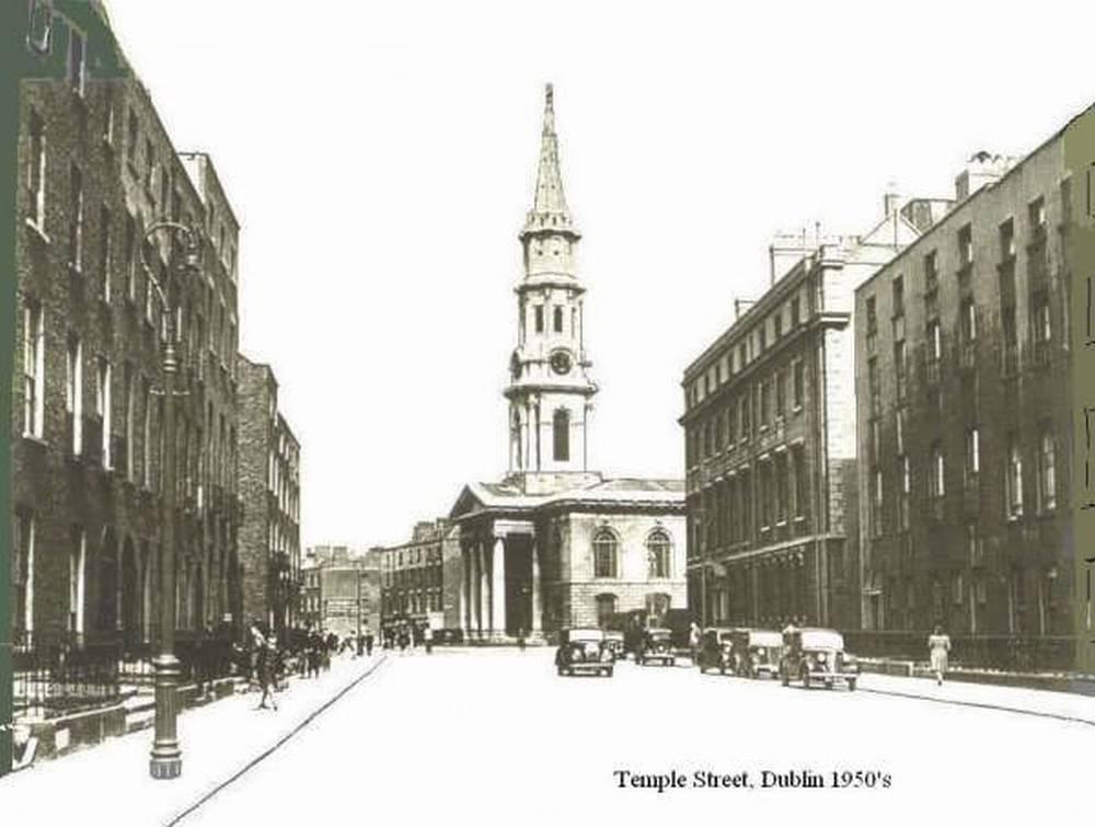 Ирландия Дублин 1950-е