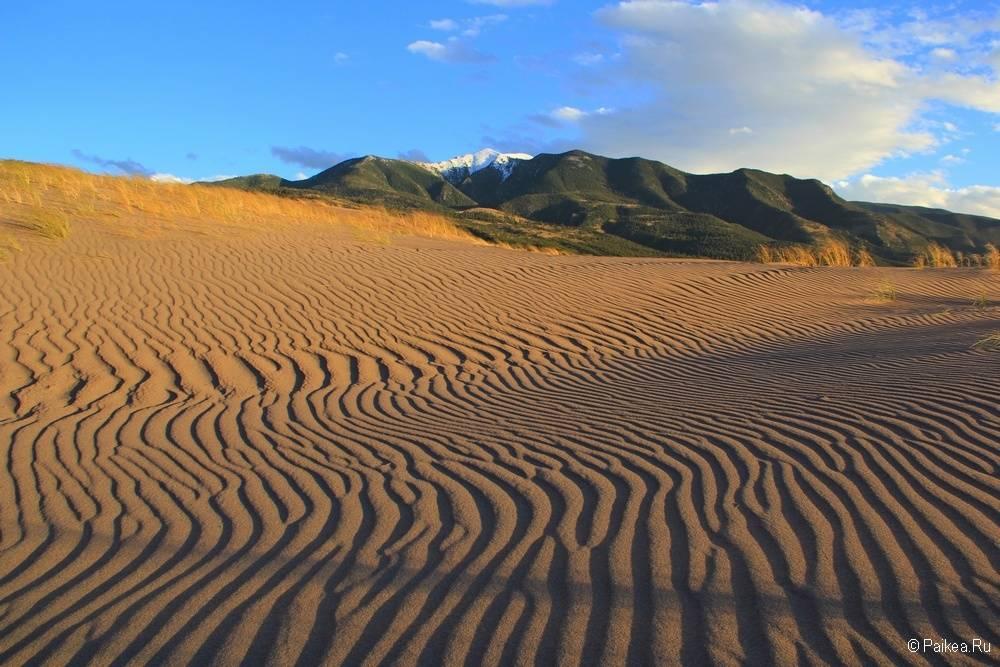 Грейт Сэндс Дьюнс фото пустыни