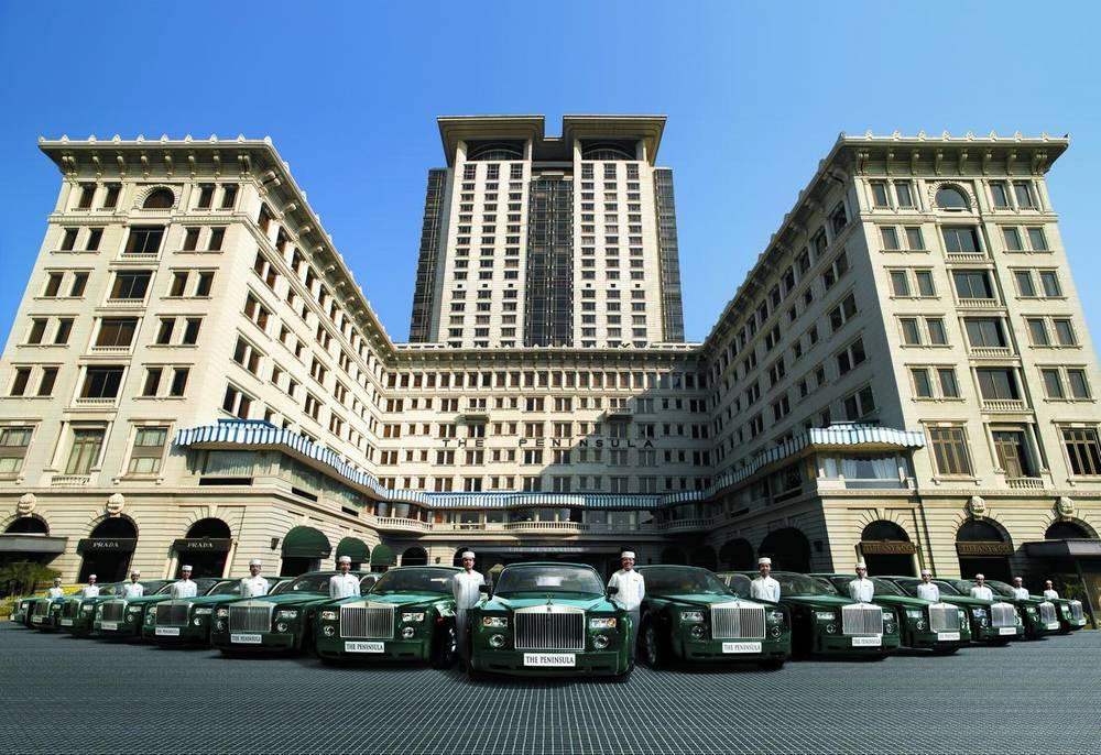 Отель Пенинсула Гонконг