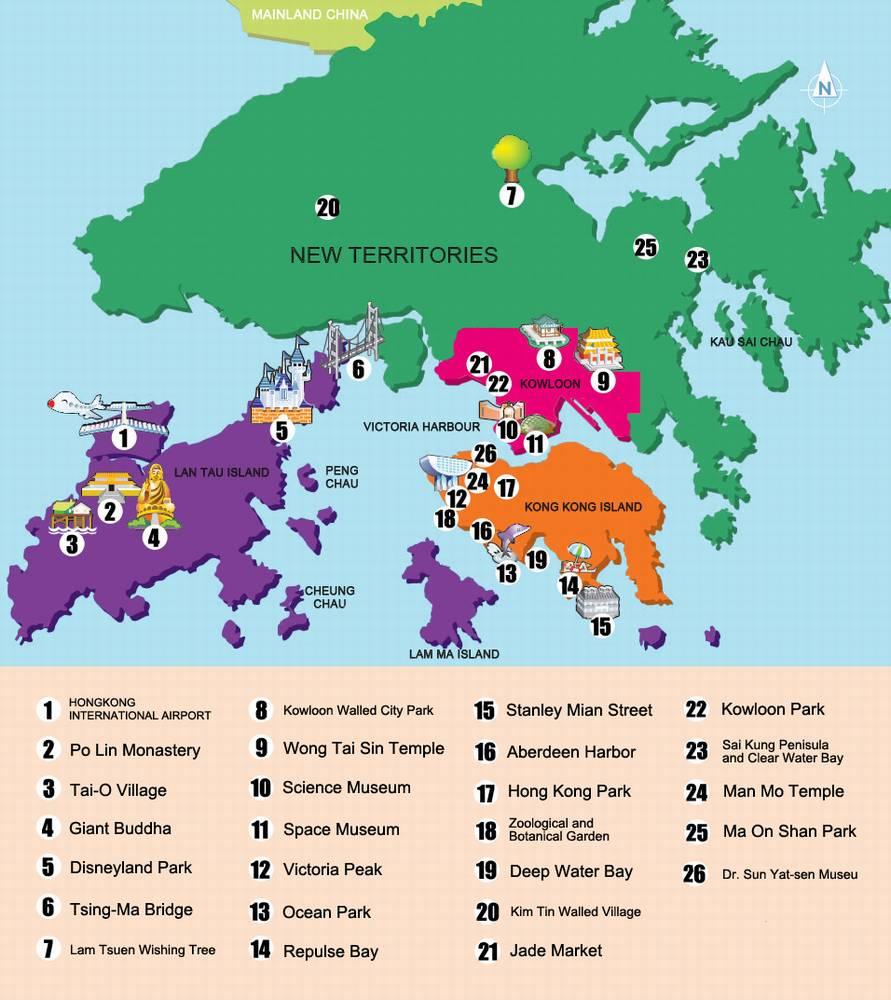 Какой район выбрать в Гонконге