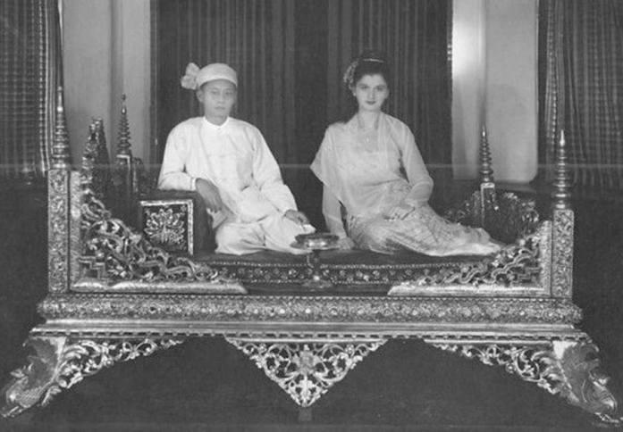 Инге Саргент Сумерки над Бирмой фото с саопой Сипо