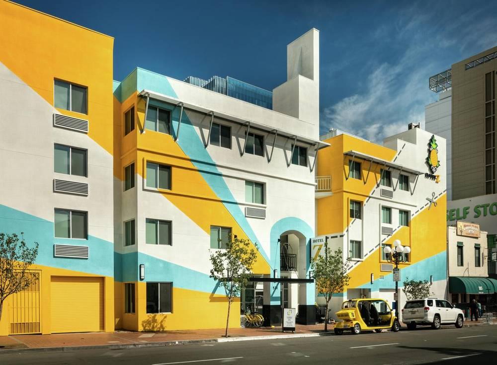 Лучшие отели Сан-Диего 3 звезды