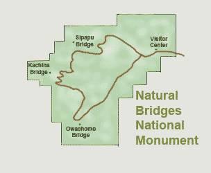 Природные мосты (Нэчурал бриджес, Natural Bridges) достопримечательности