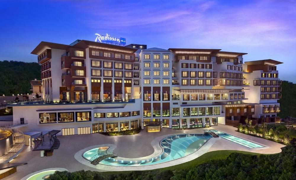 Отели Стамбула Radisson Blue