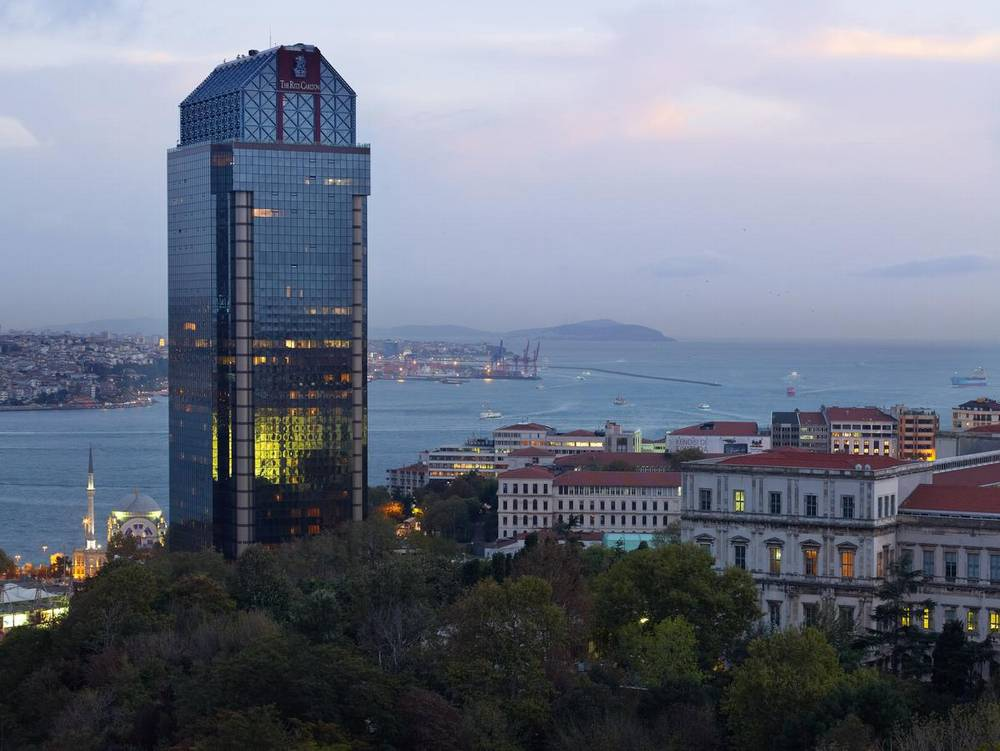 Отели Стамбула Ritz Carlton