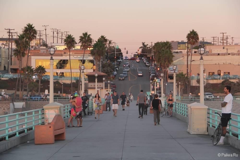 поездка в калифорнию что посмотреть пирс манхэттен бич