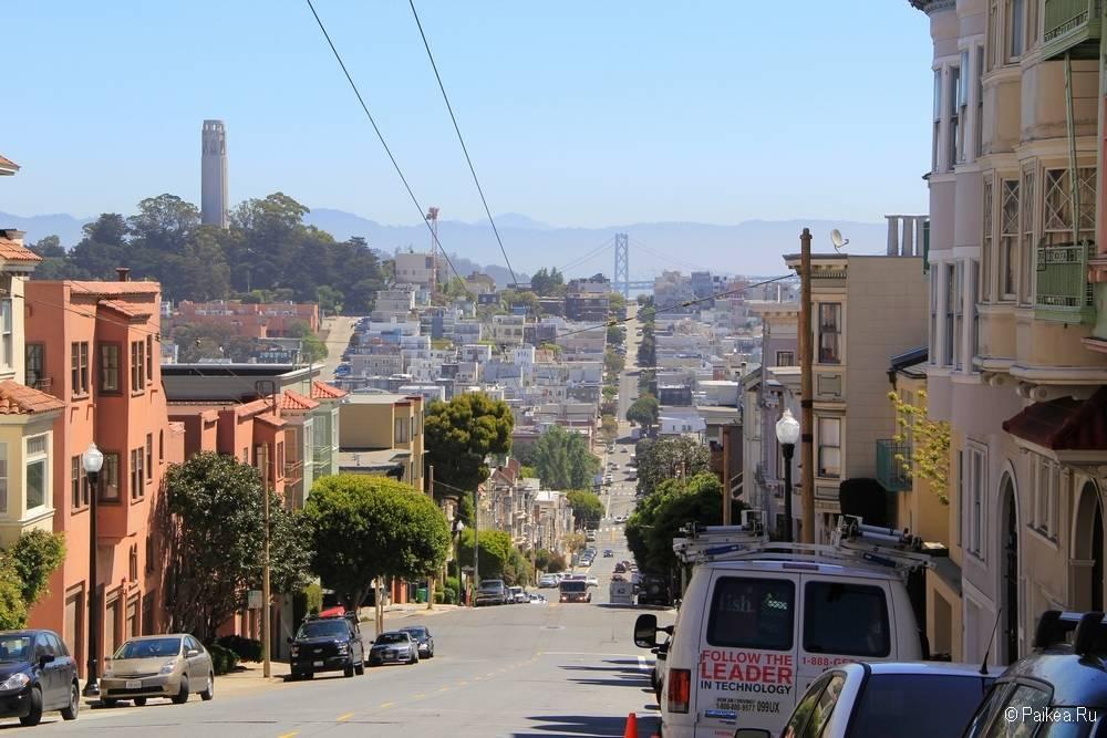 поездка в калифорнию что посмотреть башня койт