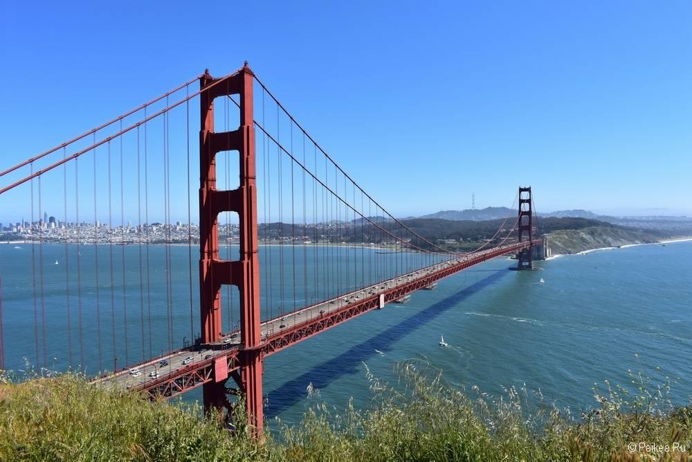 Достопримечательности Сан-Франциско лучший вид на мост