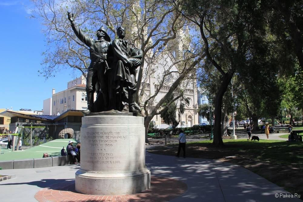 Достопримечательности Сан-Франциско парк Вашингтона