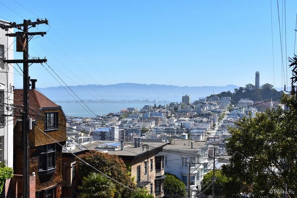 Достопримечательности Сан-Франциско койт тауэр