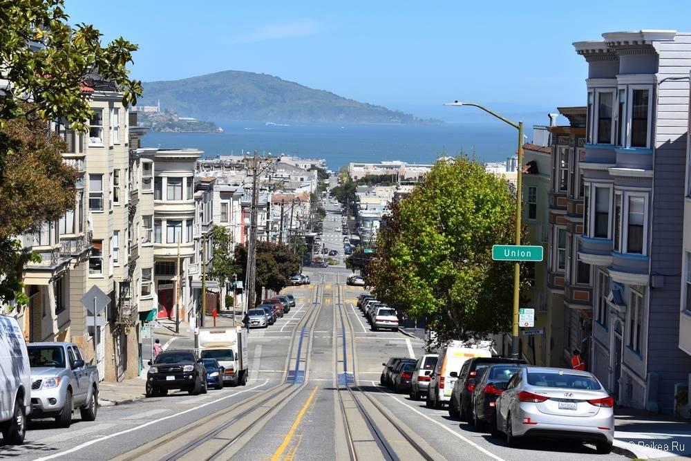 Достопримечательности Сан-Франциско холмы