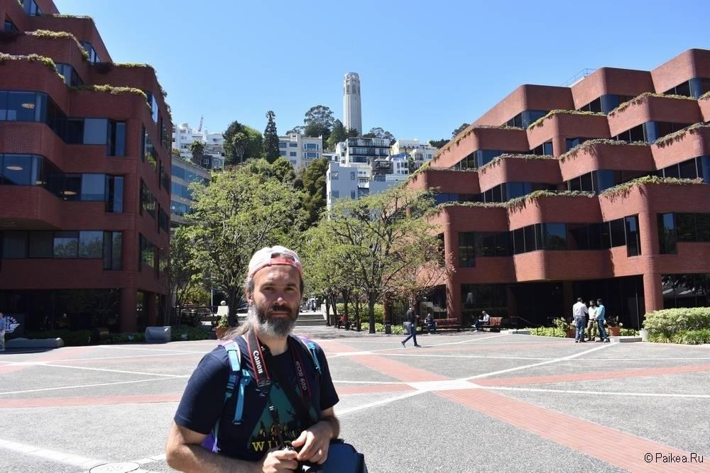 Достопримечательности Сан-Франциско Levi's Plaza