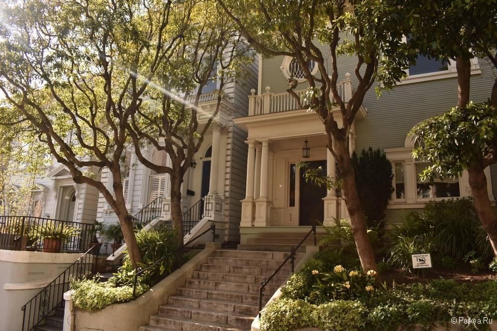 Достопримечательности Сан-Франциско викторианские дома