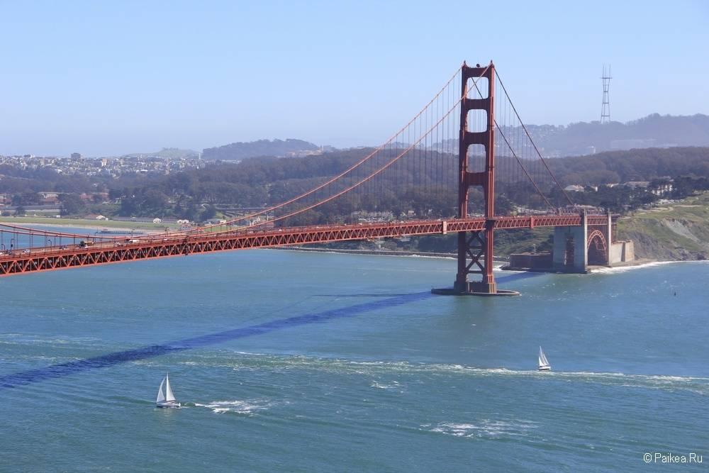 Мост Золотые ворота в Сан-Франциско (Голден Гейт)