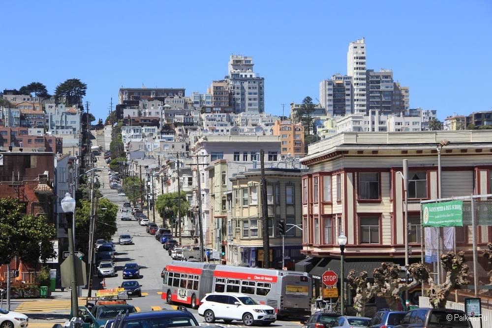 Достопримечательности Сан-Франциско телеграф хилл