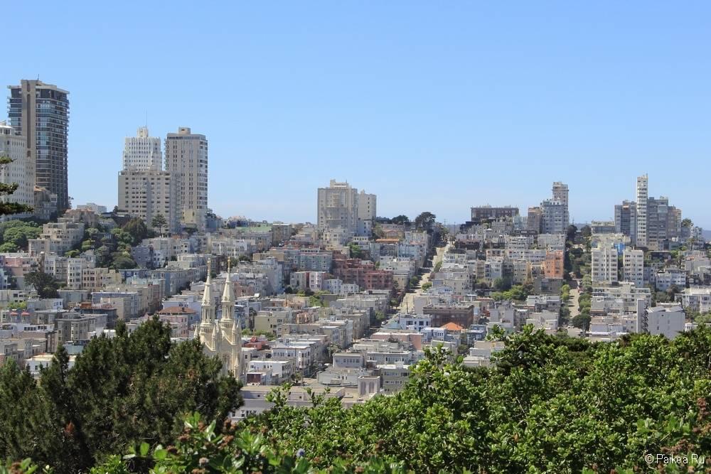 Достопримечательности Сан-Франциско русский холм