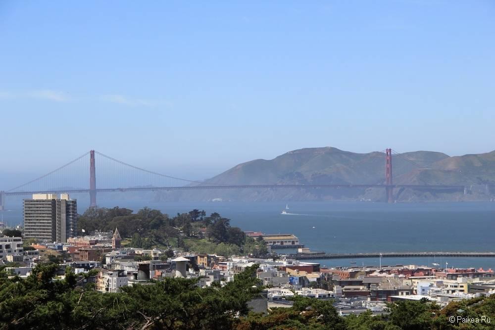 Достопримечательности Сан-Франциско панорамный вид