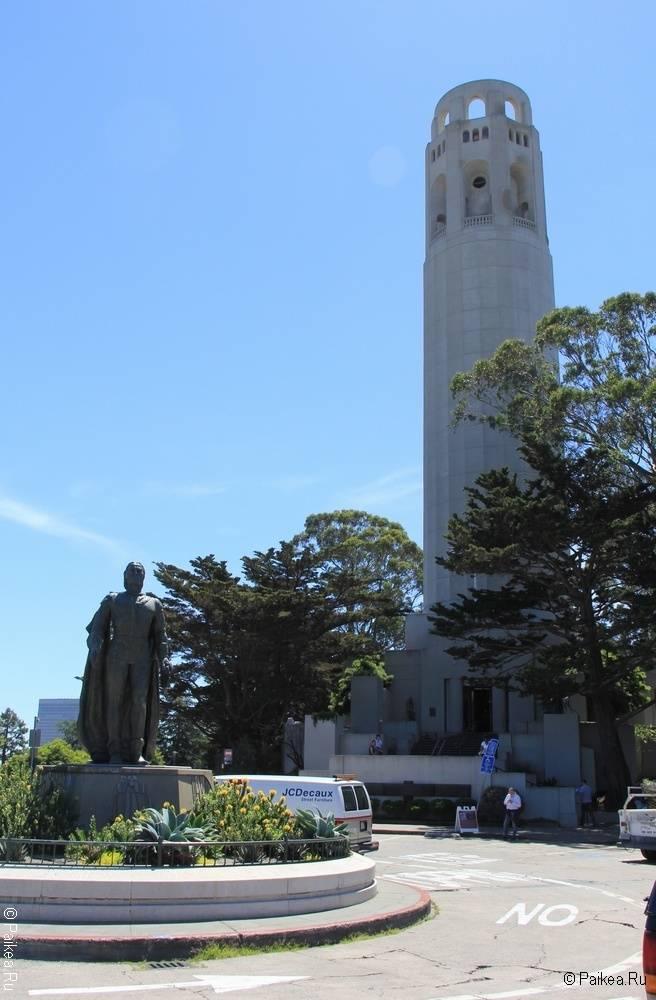 Достопримечательности Сан-Франциско Башня Койт
