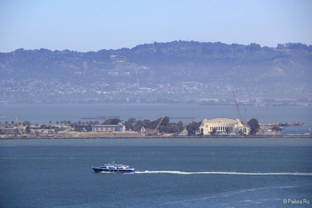 Достопримечательности Сан-Франциско Treasure island