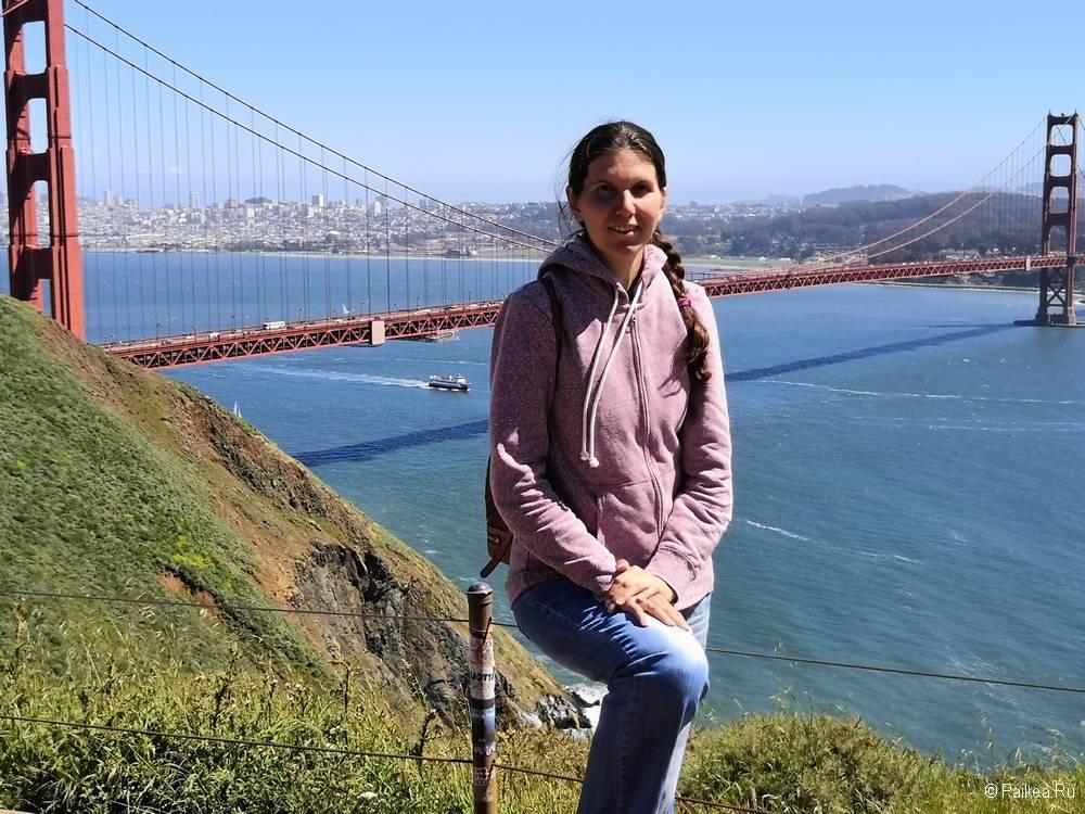 Достопримечательности Сан-Франциско вид на мост