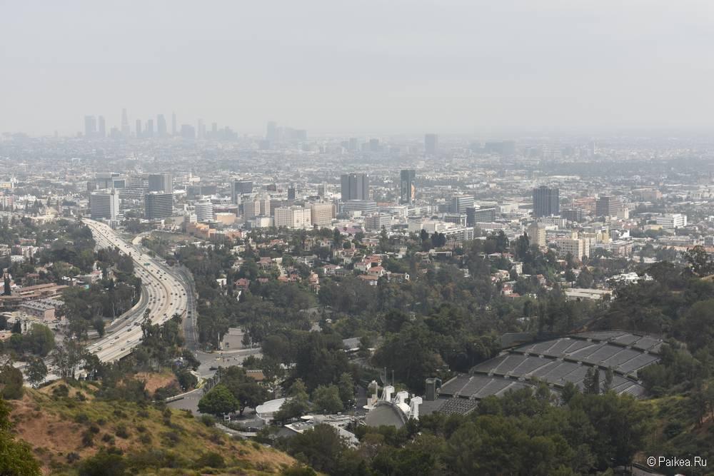 Смотровая площадка Голливуд Боул в Лос-Анджелесе 04