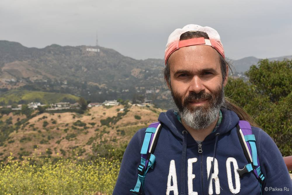 Смотровая площадка на знак Голливуд в Лос-Анджелесе