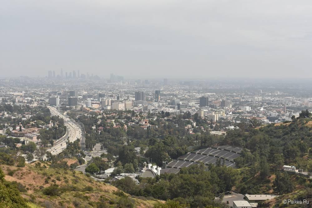 Смотровая площадка Голливуд Боул в Лос-Анджелесе 09