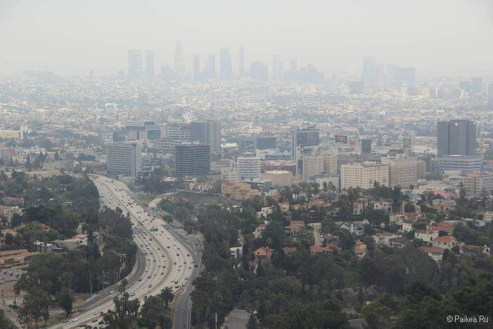 Смотровая площадка Голливуд Боул в Лос-Анджелесе 12