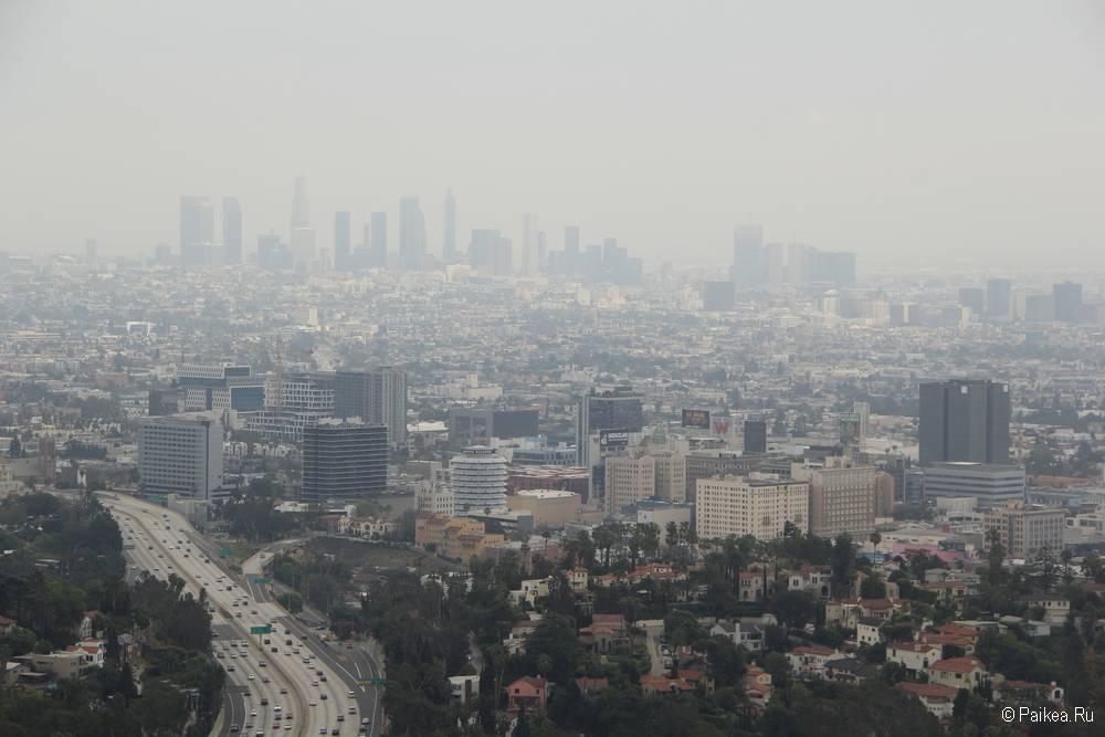 Улицы в Лос-Анджелесе Калифорния США