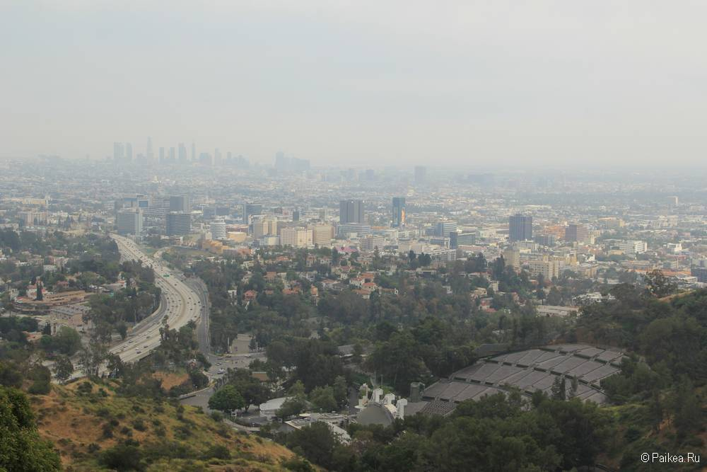Смотровая площадка Голливуд Боул в Лос-Анджелесе 17