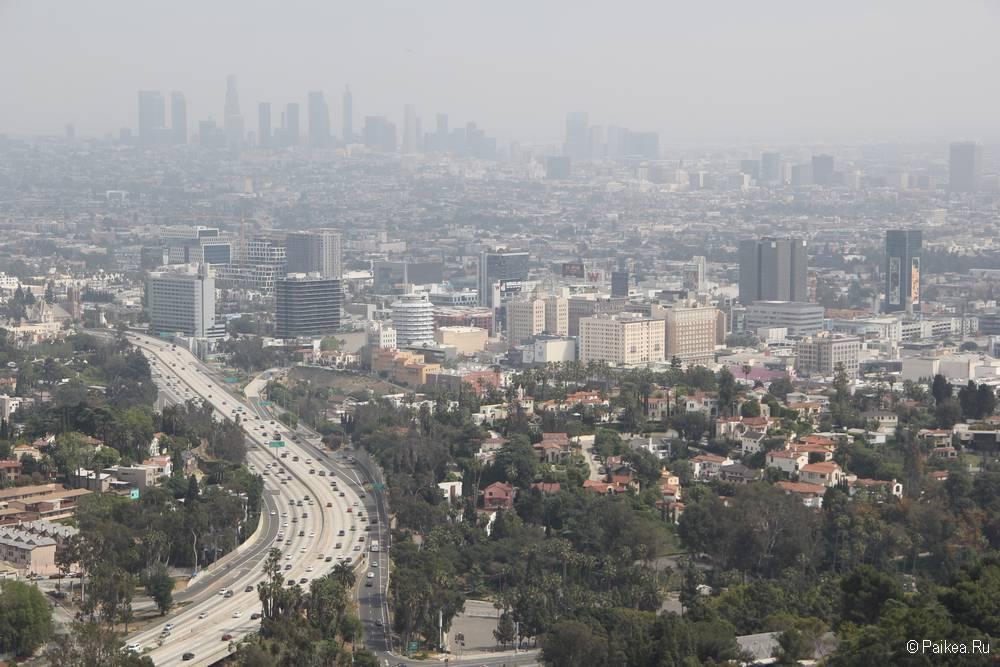 Смотровая площадка Голливуд Боул в Лос-Анджелесе 25