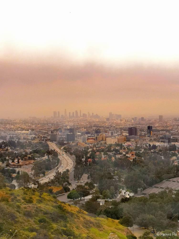 Смотровая площадка Голливуд Боул в Лос-Анджелесе 28