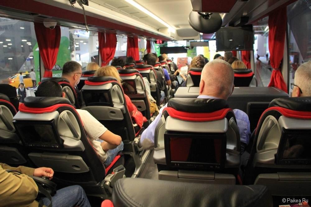 Новый аэропорт Стамбула как выглядит автобус