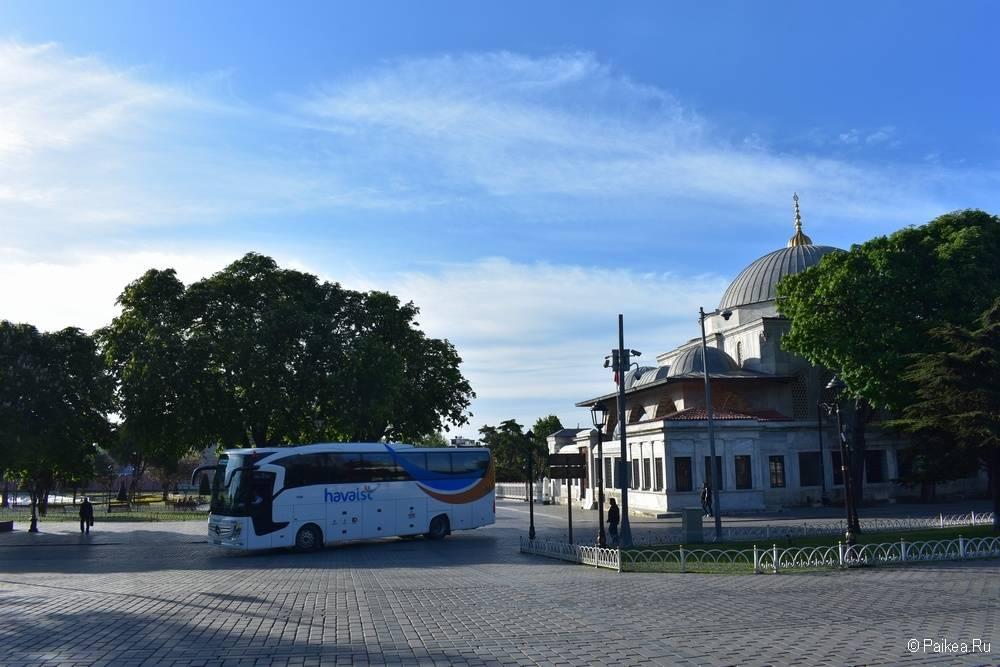 Автобус из аэропорта Стамбула в центр города