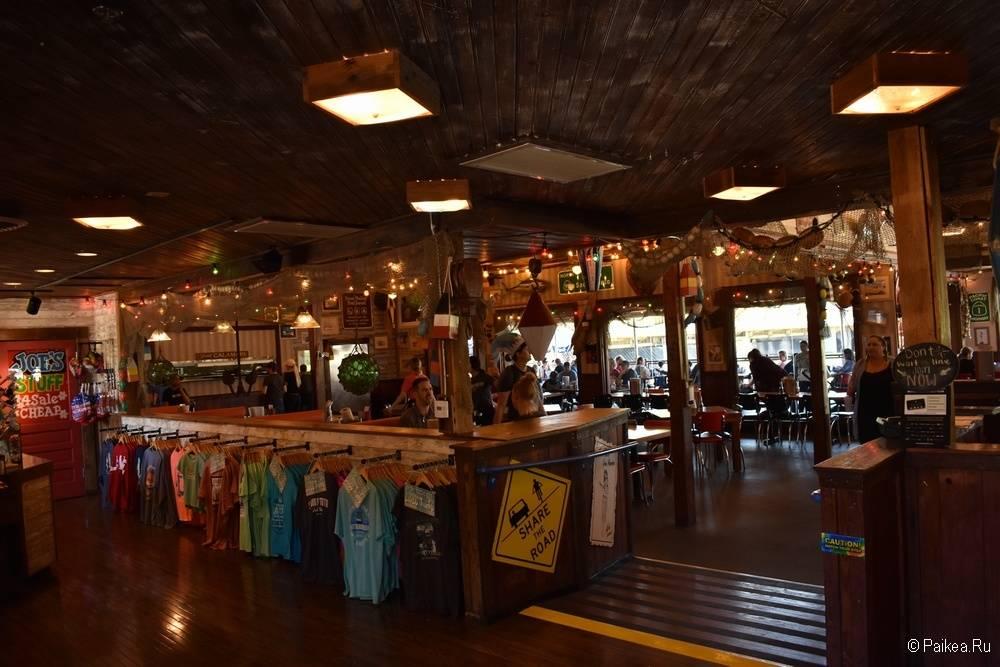 Сакраменто Калифорния - крабовый ресторан
