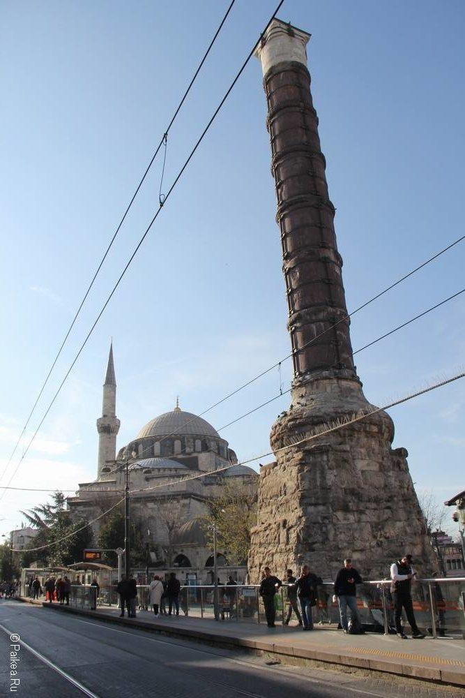 Колонна Константина (Чемберлиташ) - символ Стамбула