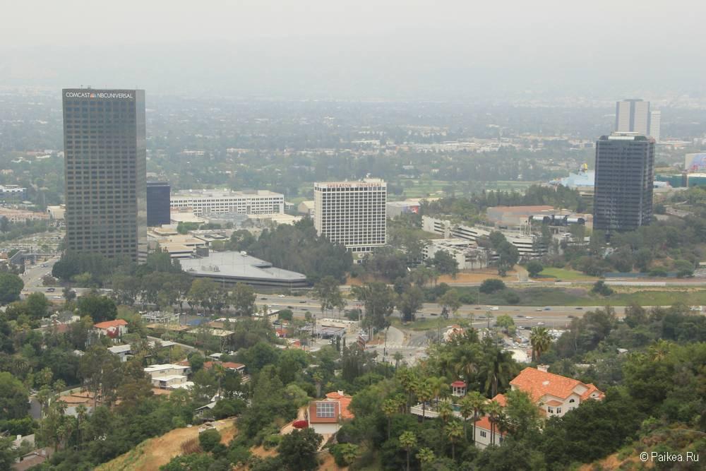 Смотровая площадка Юниверсал в Лос-Анджелесе 06