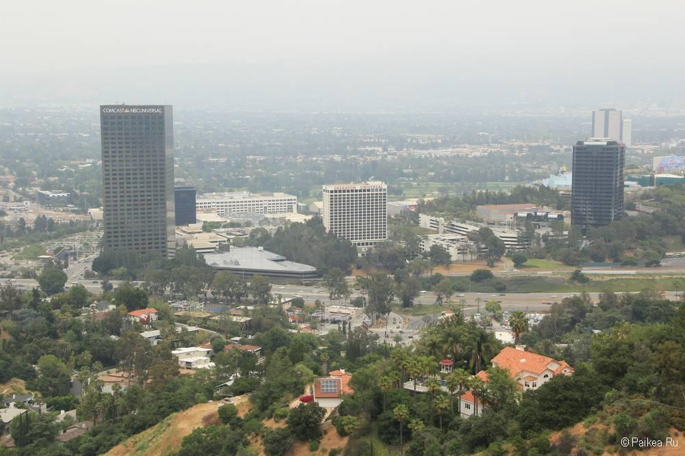 Смотровая площадка в Лос-Анджелесе