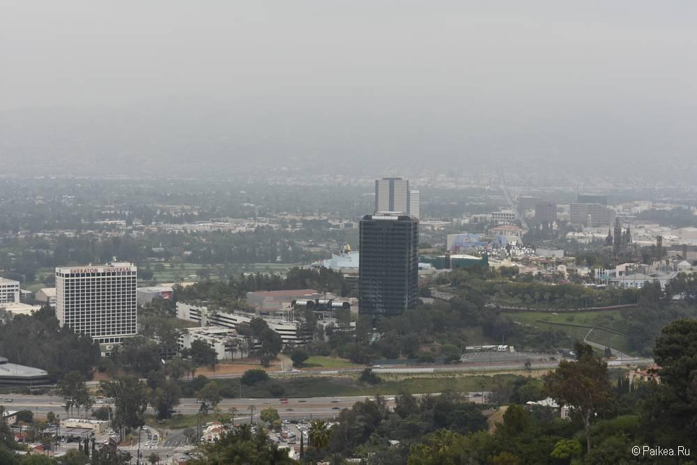Смотровая площадка Юниверсал в Лос-Анджелесе 13