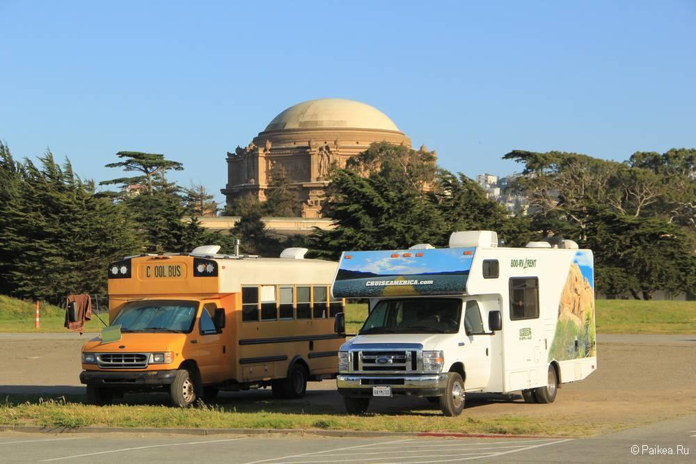 Ротонда Дворца изящных искусств в Сан-Франциско