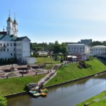 Поездка в Витебск - что посмотреть - Набережная реки Витьба