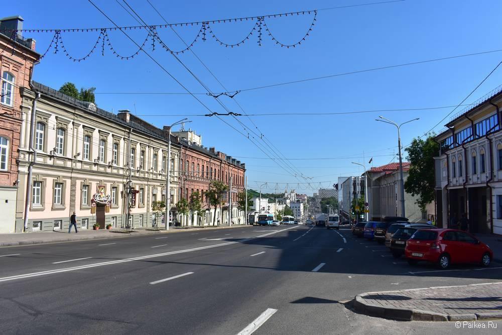 Центральная улица Витебска