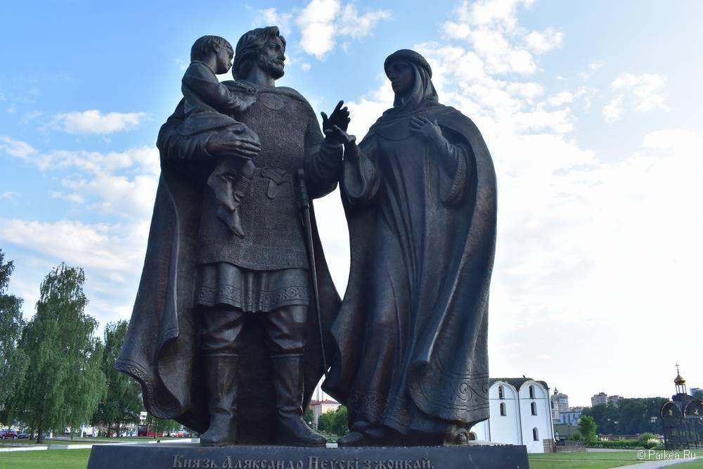 Памятник Александру Невскому, Витебск