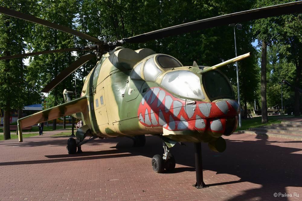 Вертолет Ми-24 в Витебске