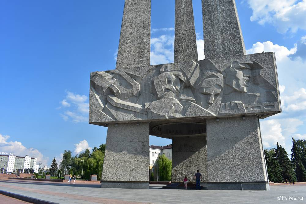 Три Штыка, Витебск
