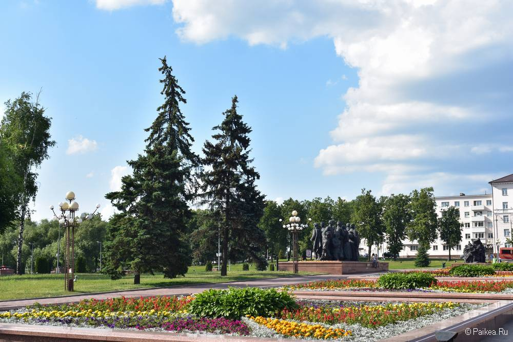 Парк Победителей, Витебск