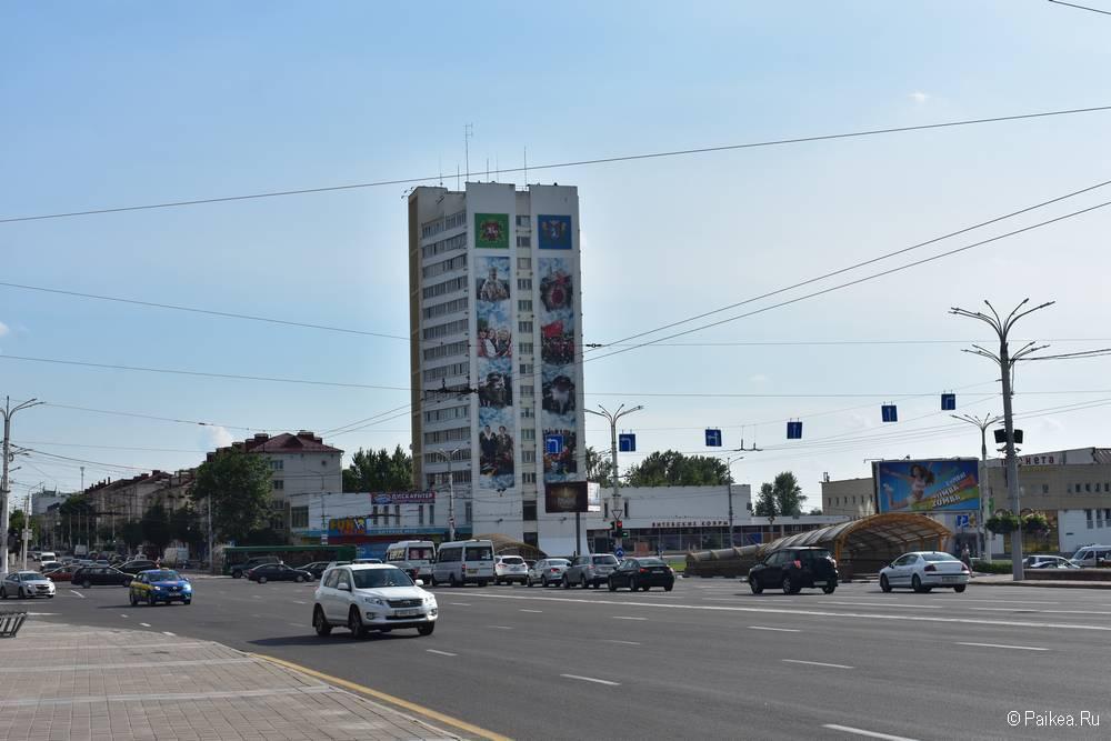 Поездка в Витебск на машине