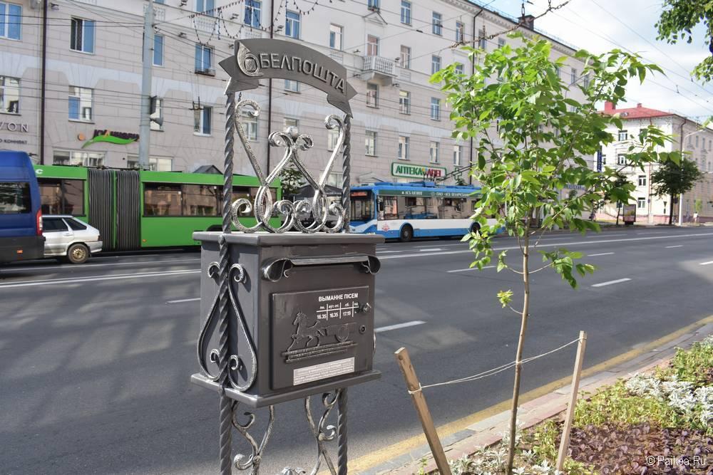 Городской транспорт на улице Ленина Витебске